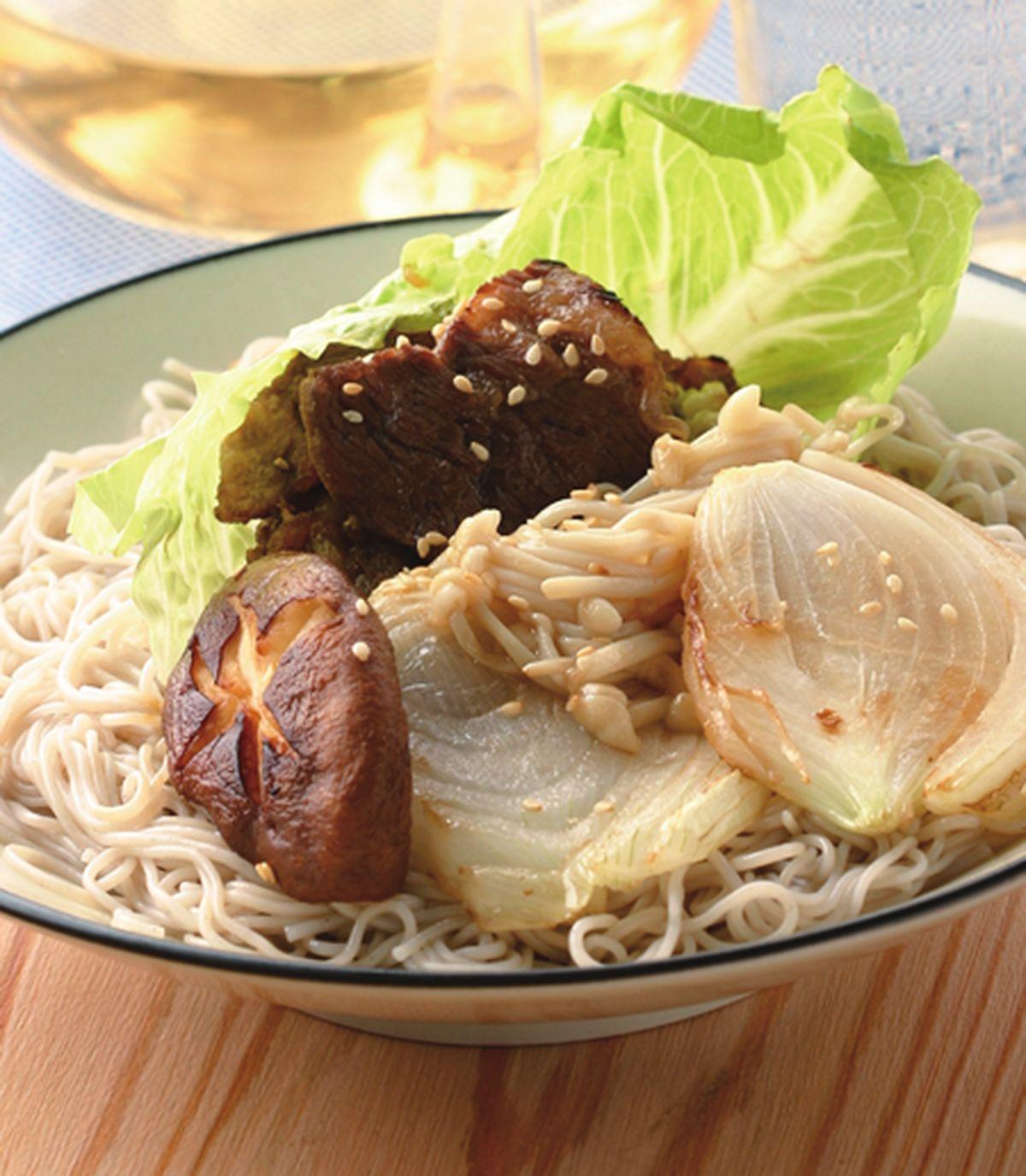 食譜:韓式烤肉冷麵