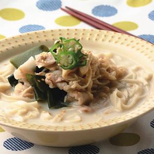 豆漿冷湯麵