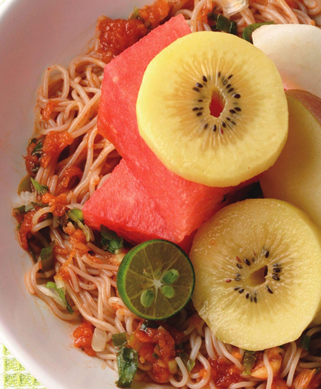 食譜:水果拌醬