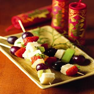 發糕水果串