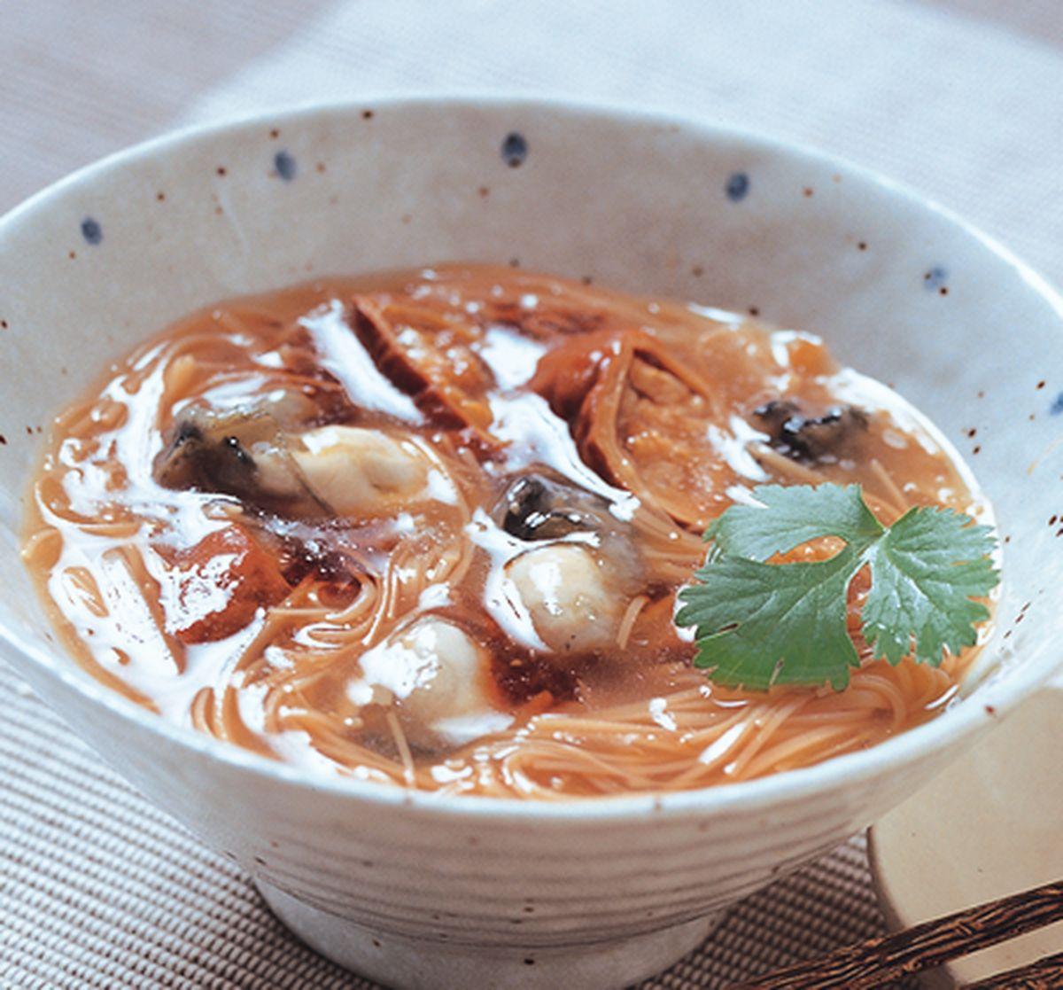 食譜:大腸蚵仔麵線(1)
