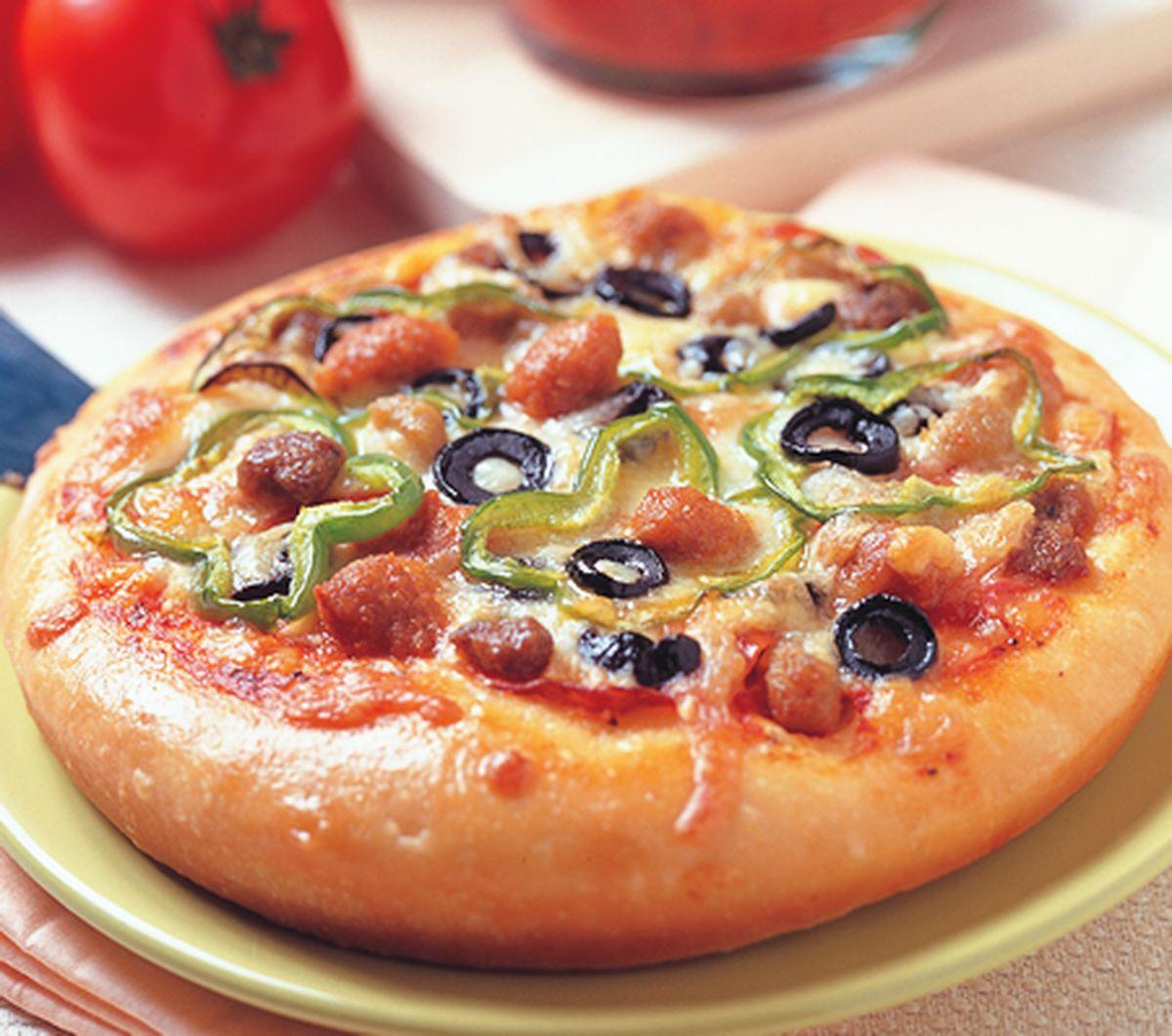 食譜:義式總匯披薩