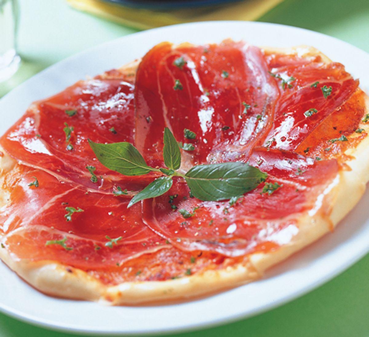 食譜:帕瑪火腿起司披薩