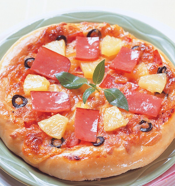 食譜:夏威夷披薩(1)