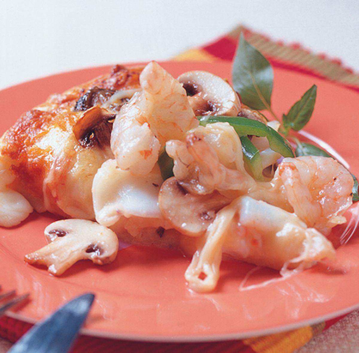 食譜:海鮮總匯披薩
