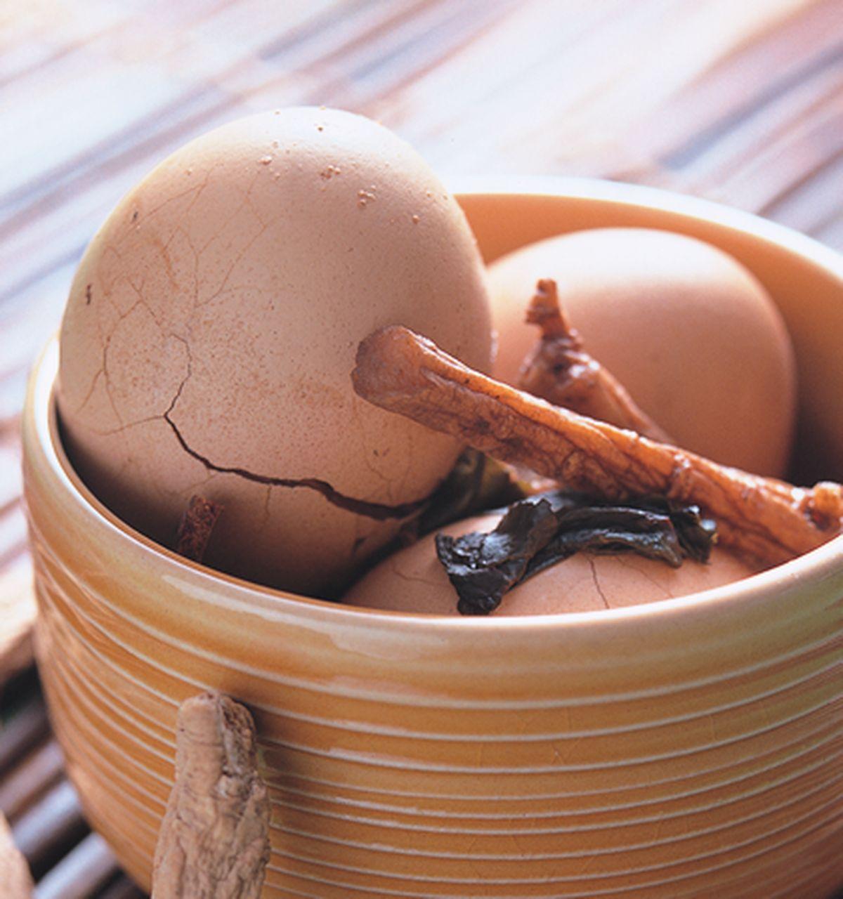 食譜:養生藥膳綠茶蛋