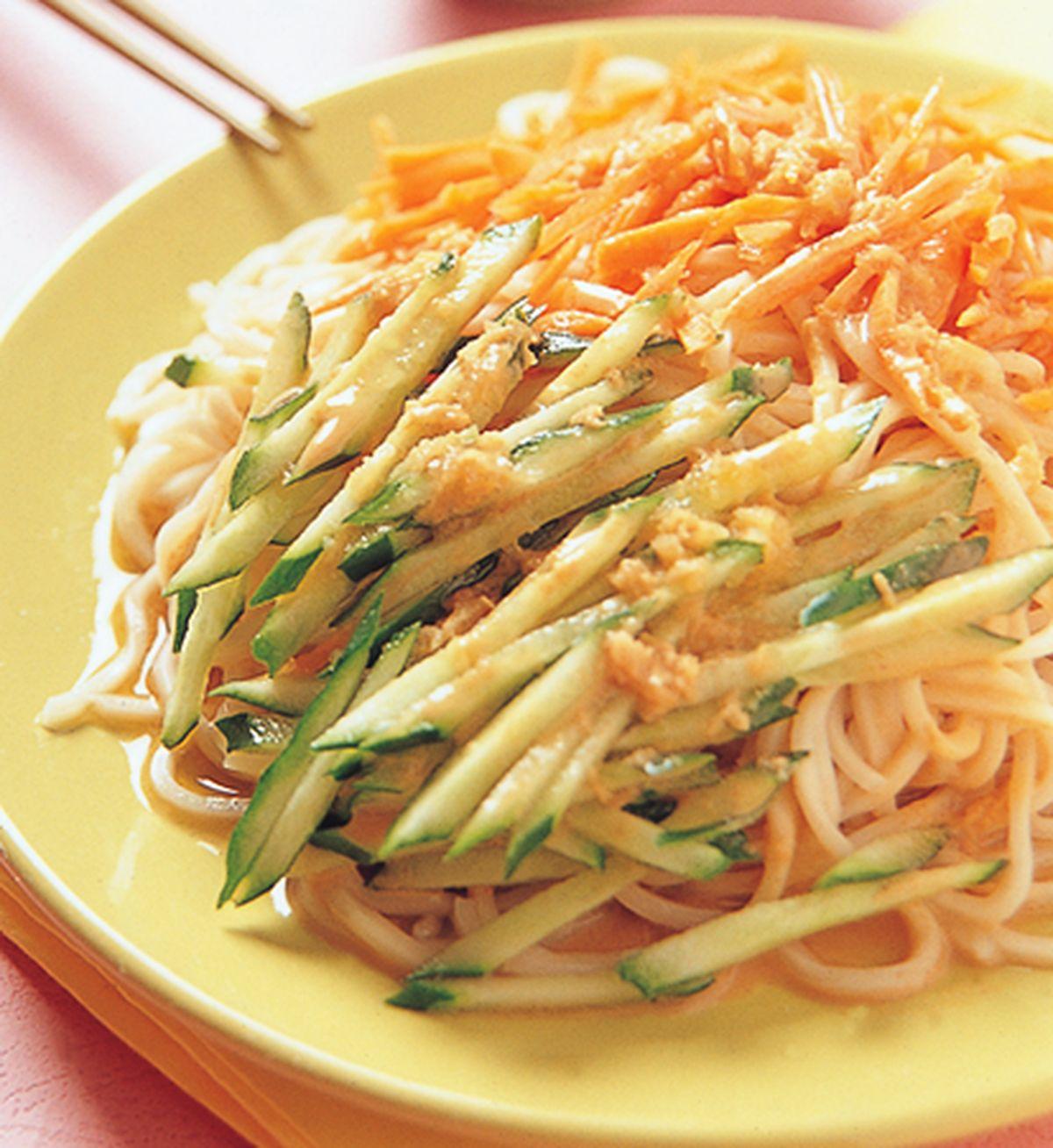 食譜:花生芝麻醬涼麵