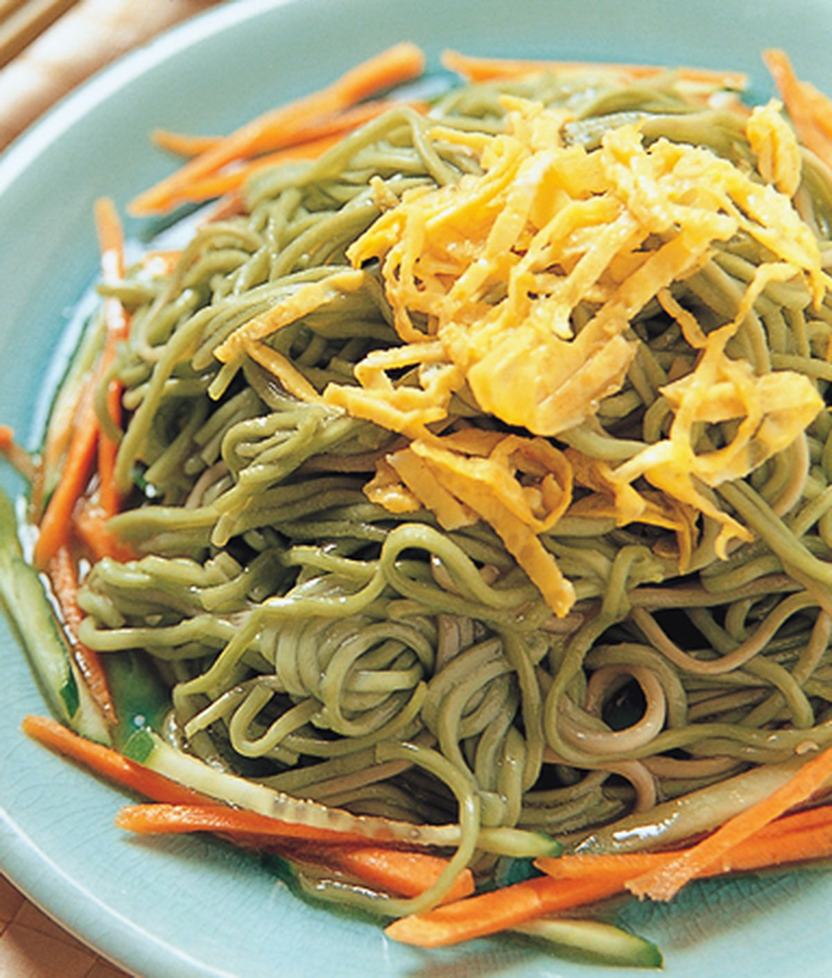 食譜:山葵醬涼麵