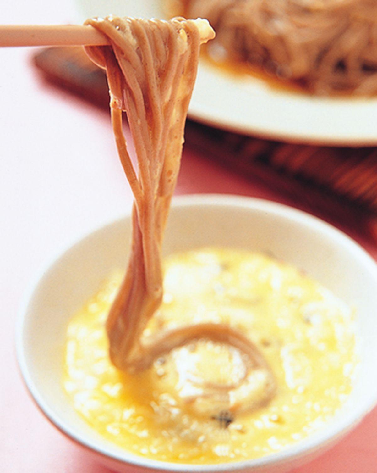 食譜:日式月見冷麵