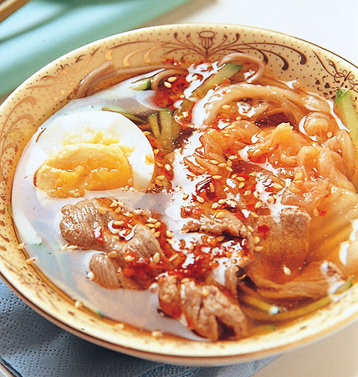 食譜:韓式冷麵