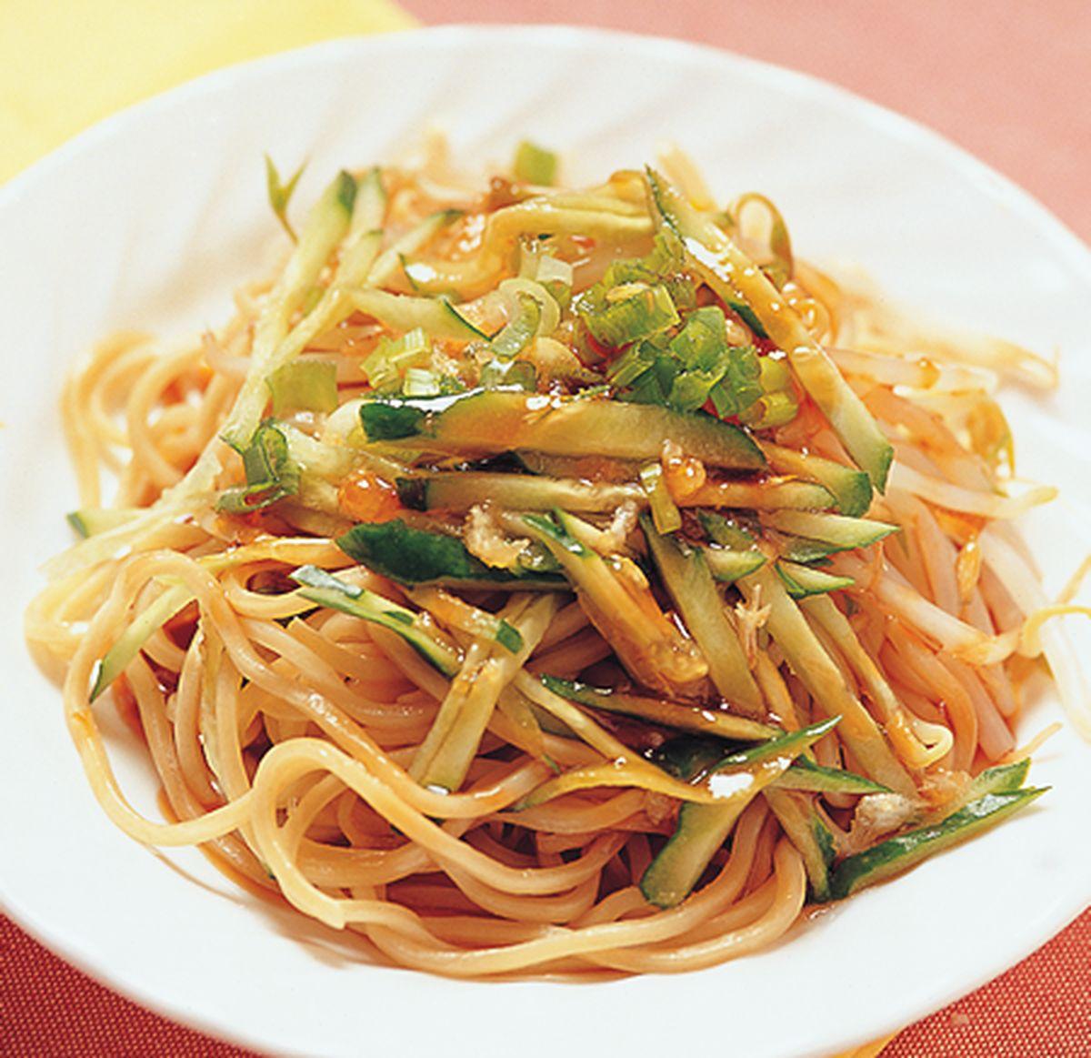 食譜:蒜蓉傳統涼麵