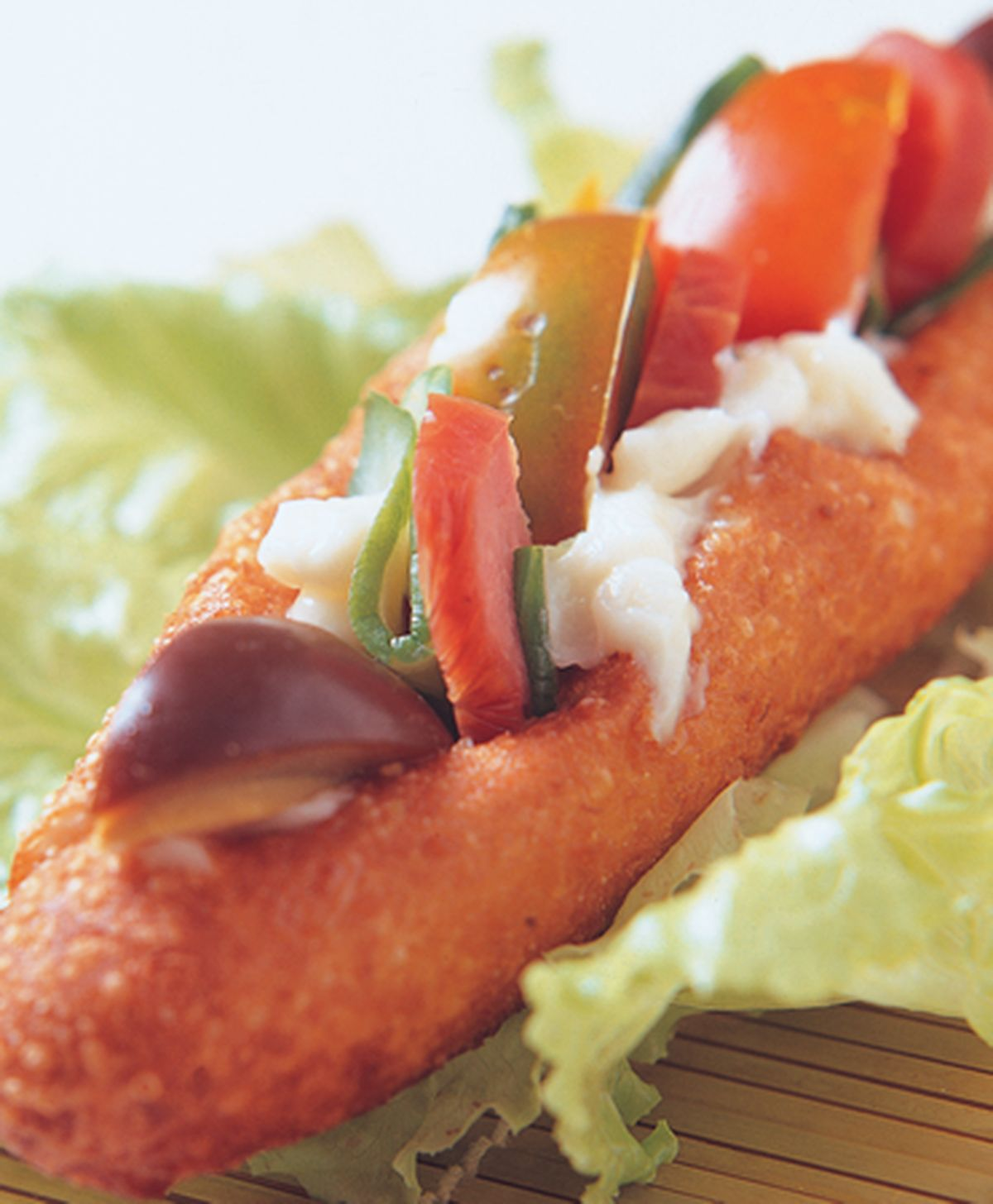 食譜:廟口三明治