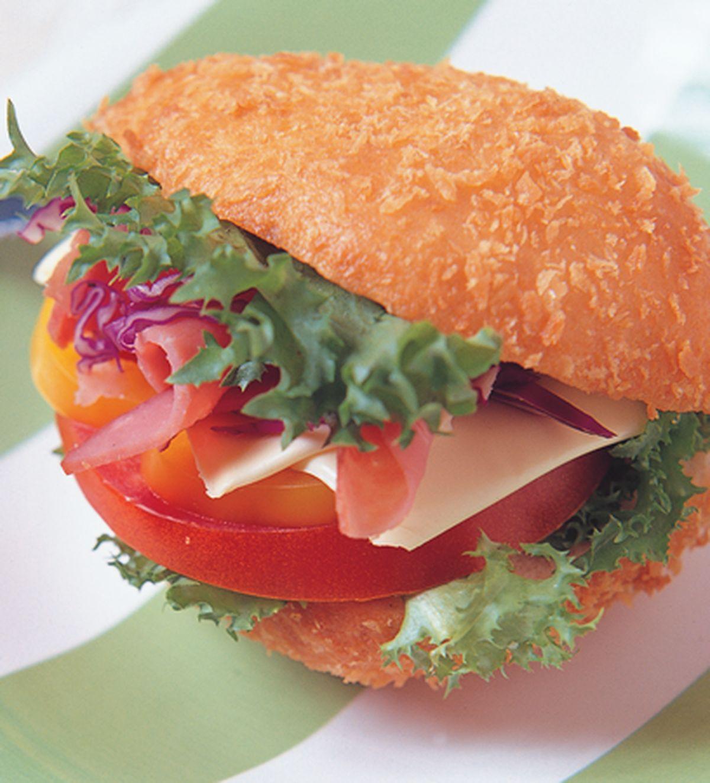 食譜:蔬菜美味餡三明治