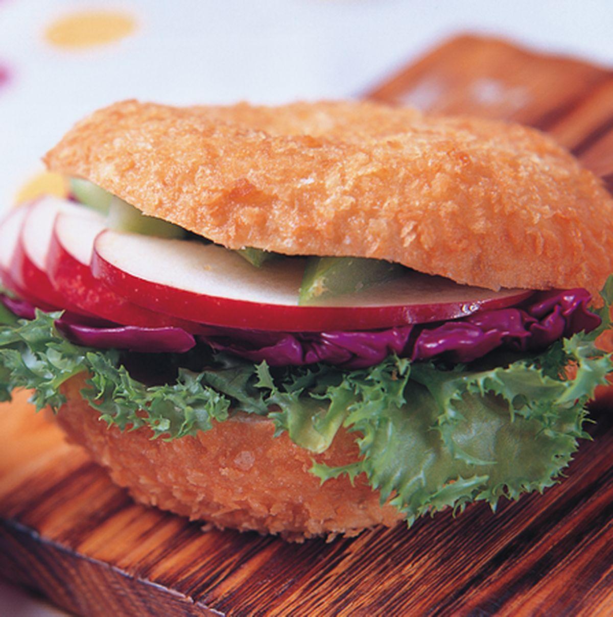 食譜:蔬菜低卡餡三明治