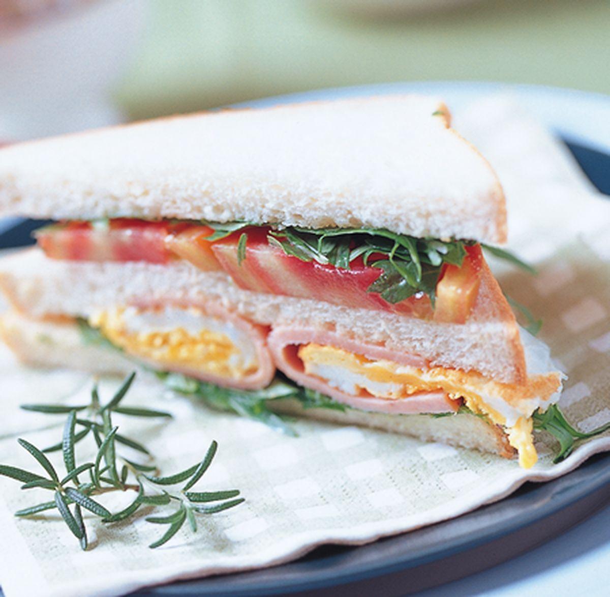 食譜:火雞肉煎蛋三明治