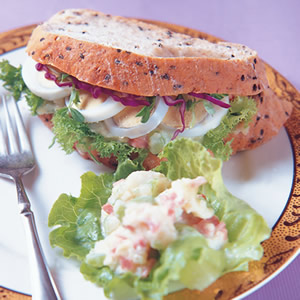 洋芋蛋片三明治