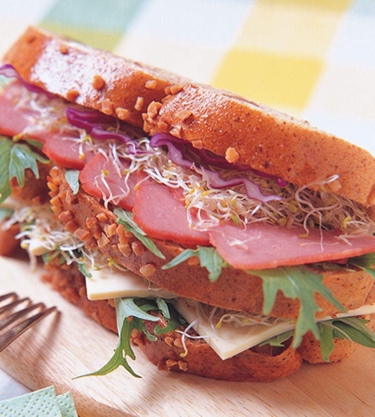 食譜:核桃起司三明治