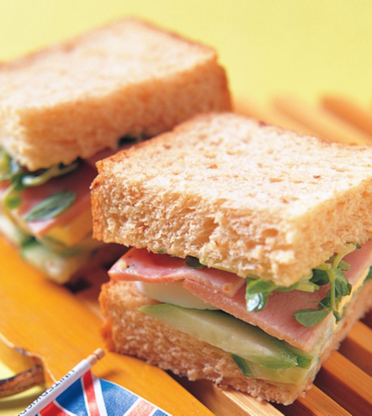 食譜:健康低卡三明治