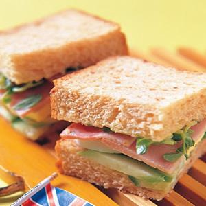 健康低卡三明治