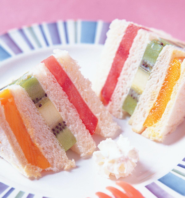食譜:鮮果三明治