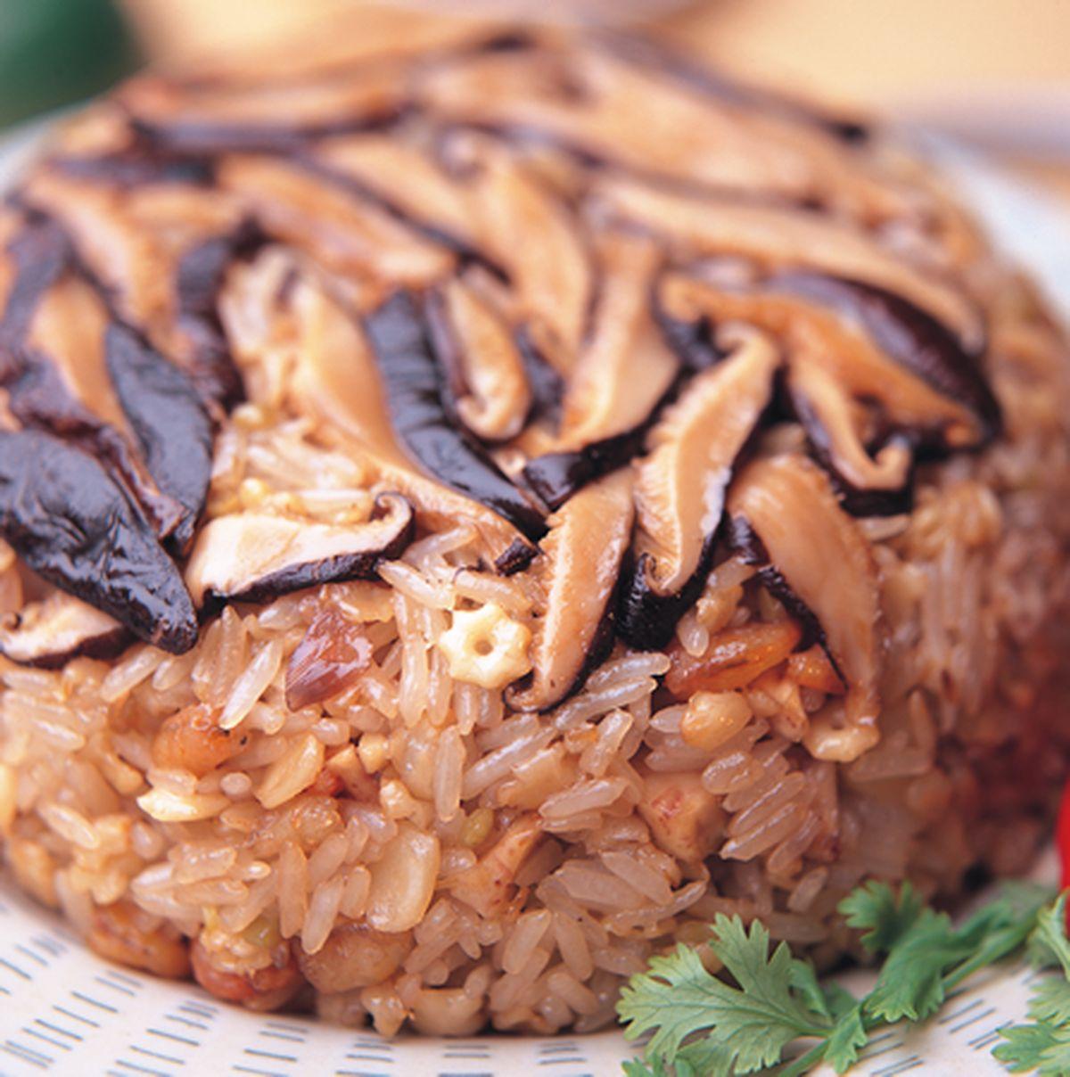 食譜:傳統油飯