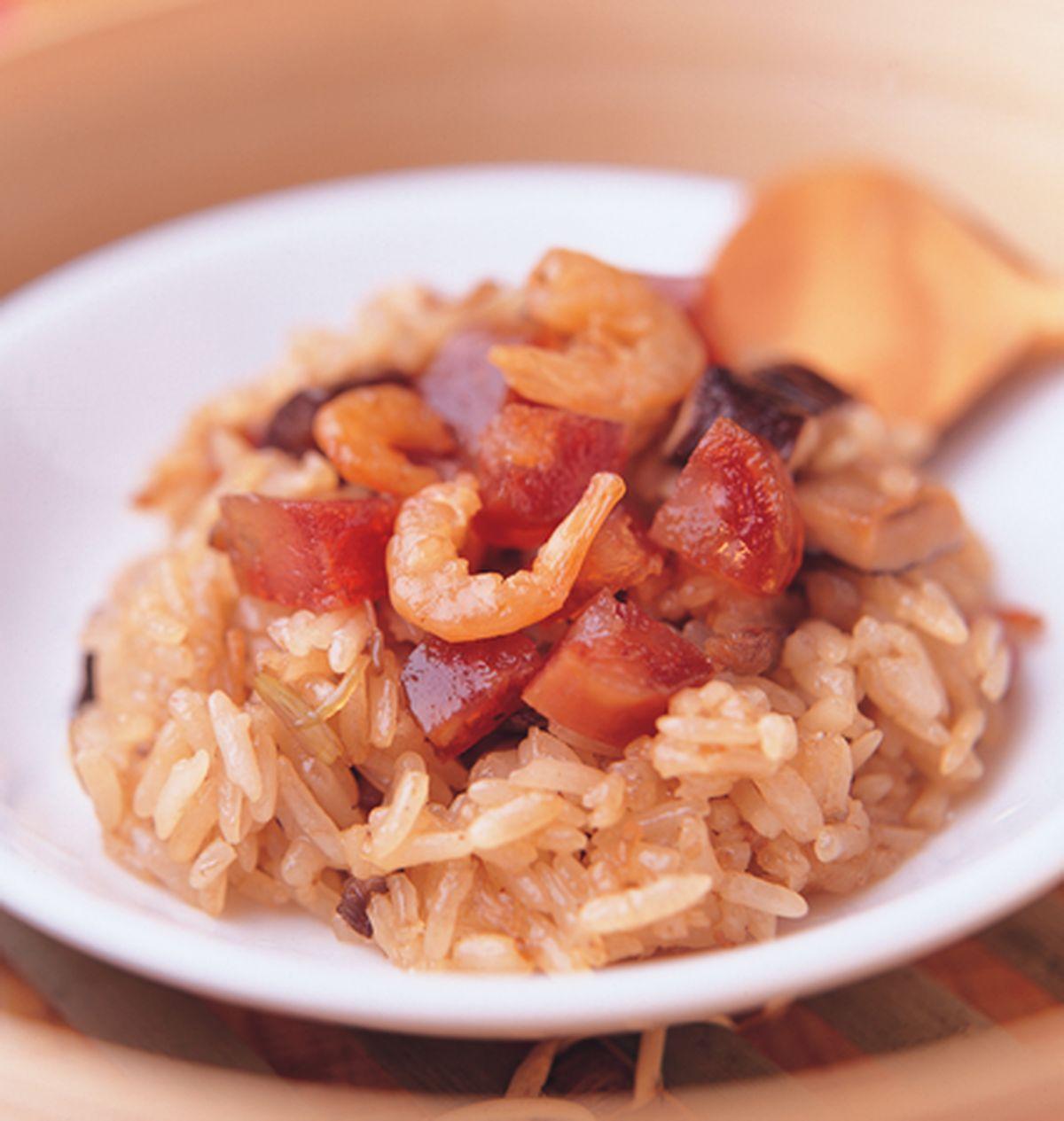 食譜:港式臘味油飯