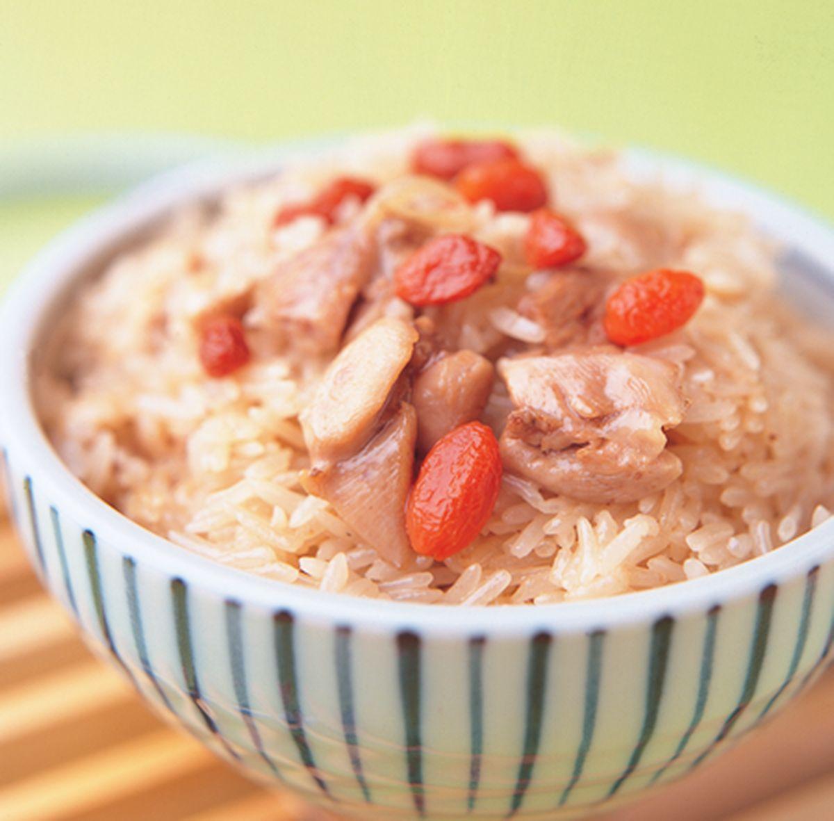 食譜:麻油雞油飯(1)
