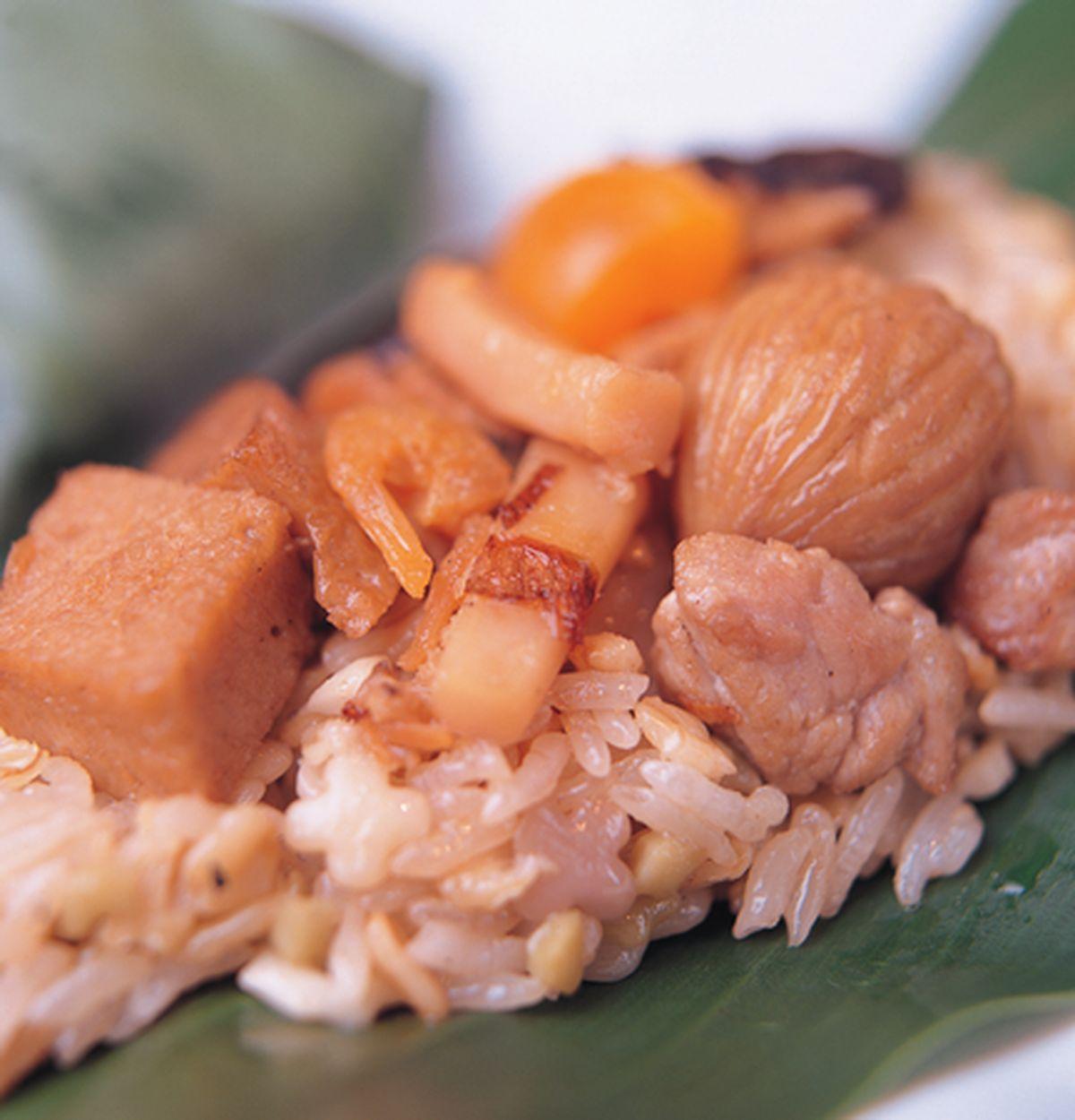 食譜:野薑花粽