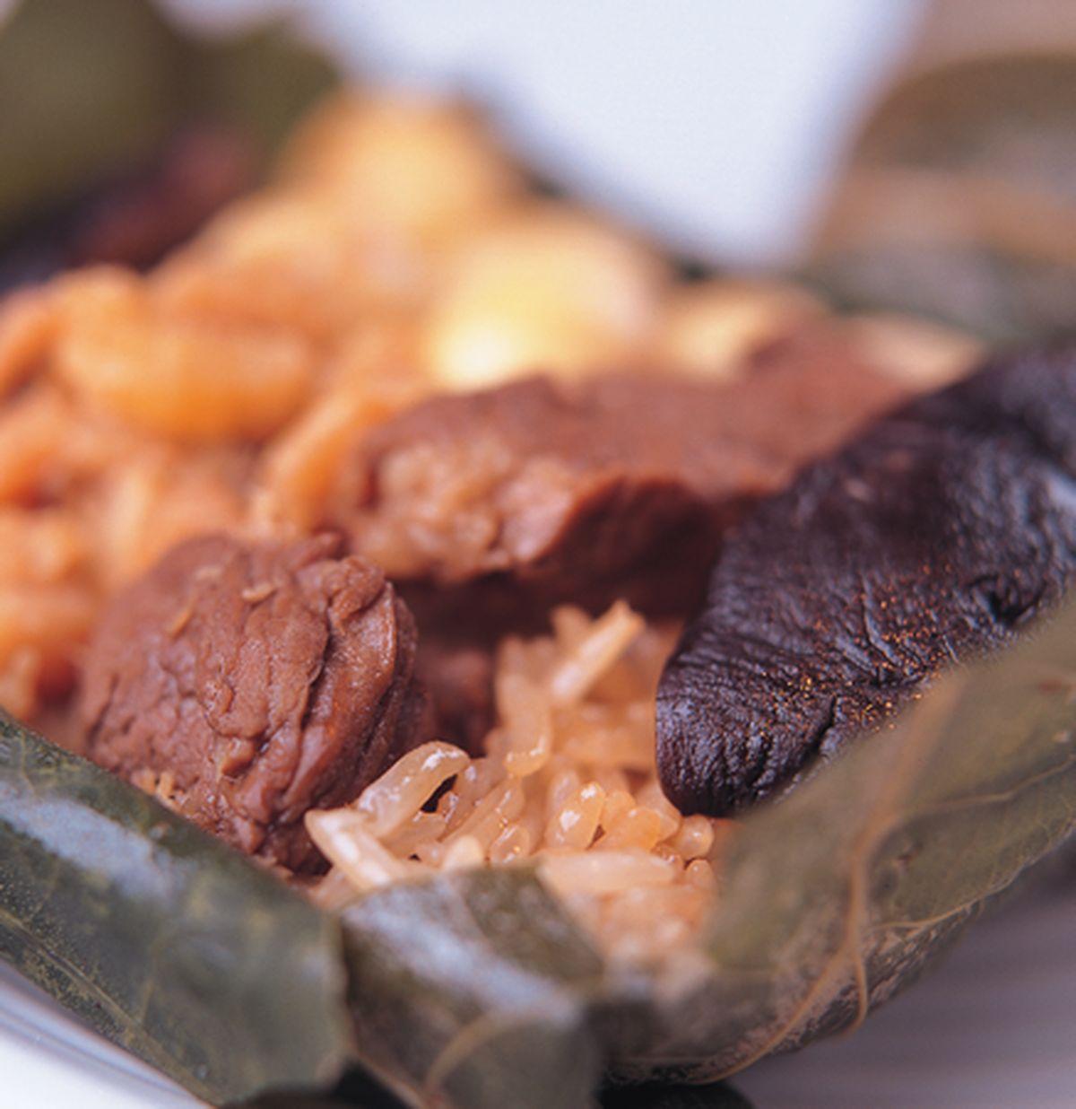 食譜:荷葉粽