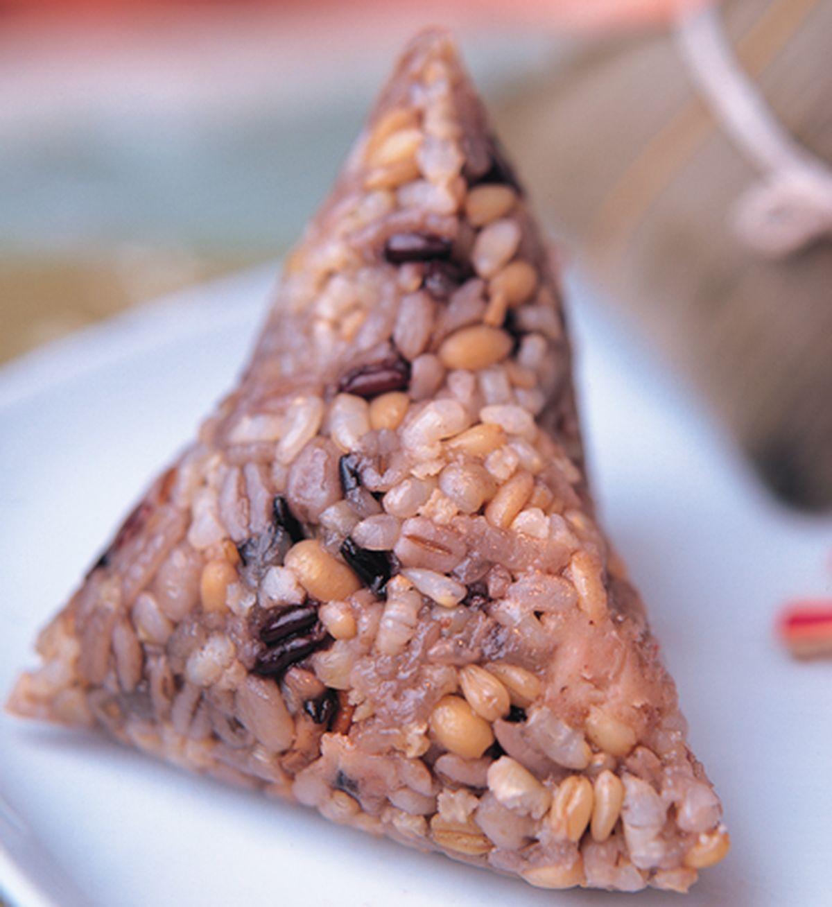 食譜:五穀雜糧養生粽