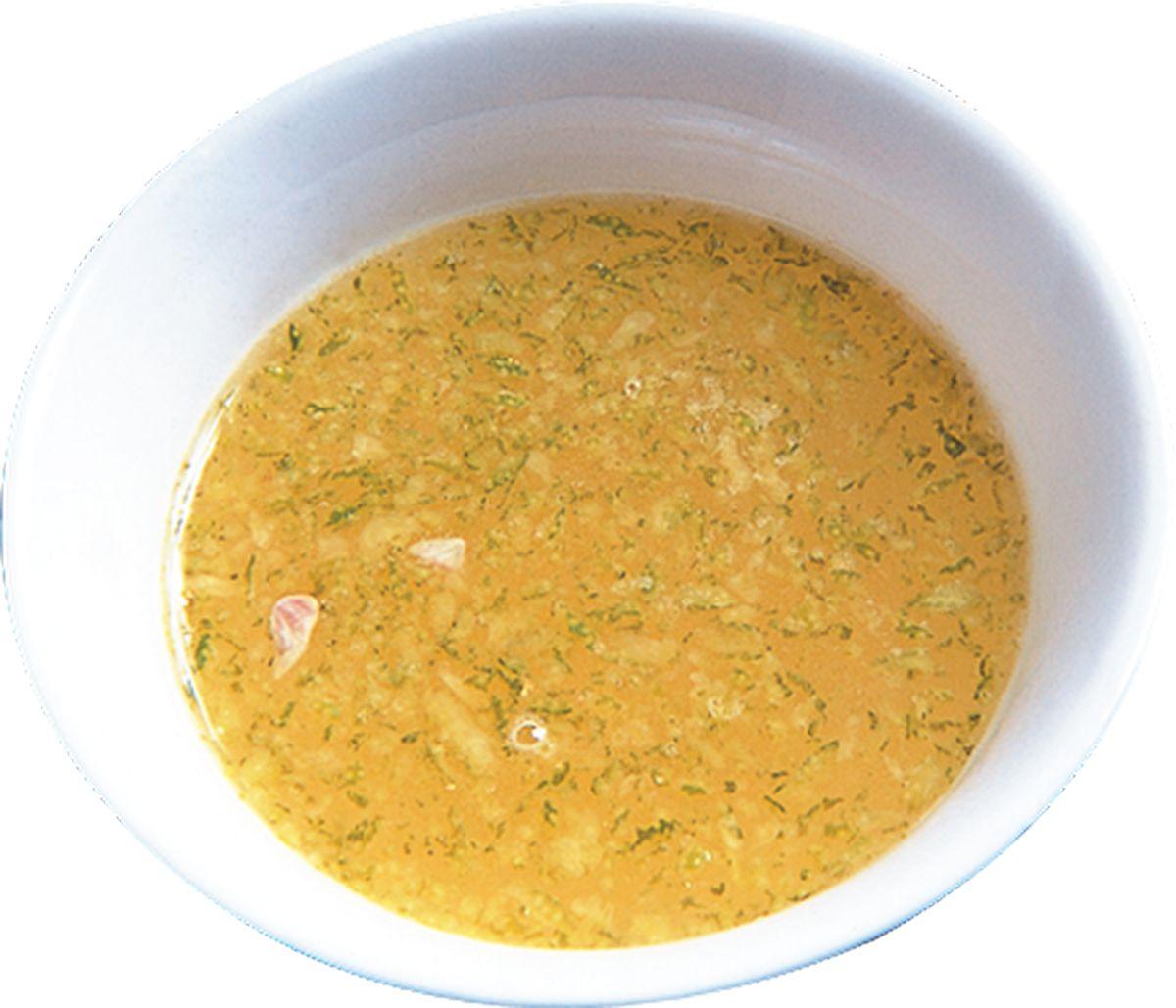 食譜:香檸醃汁