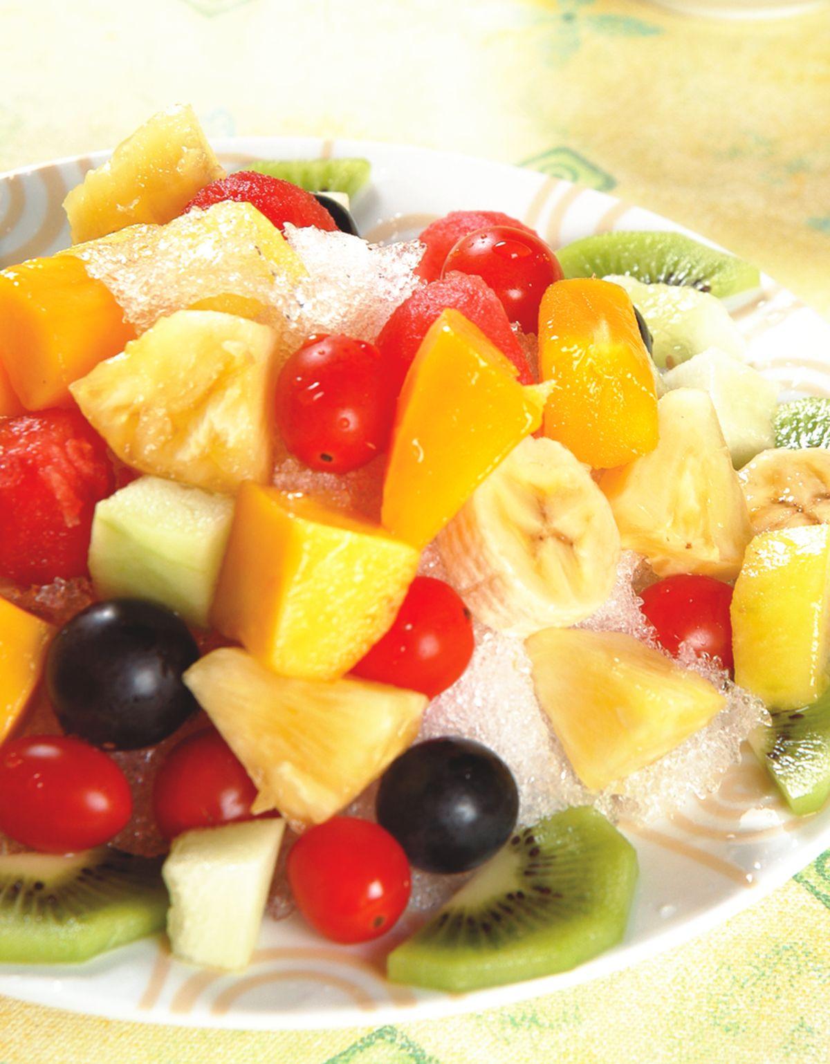 食譜:綜合水果冰