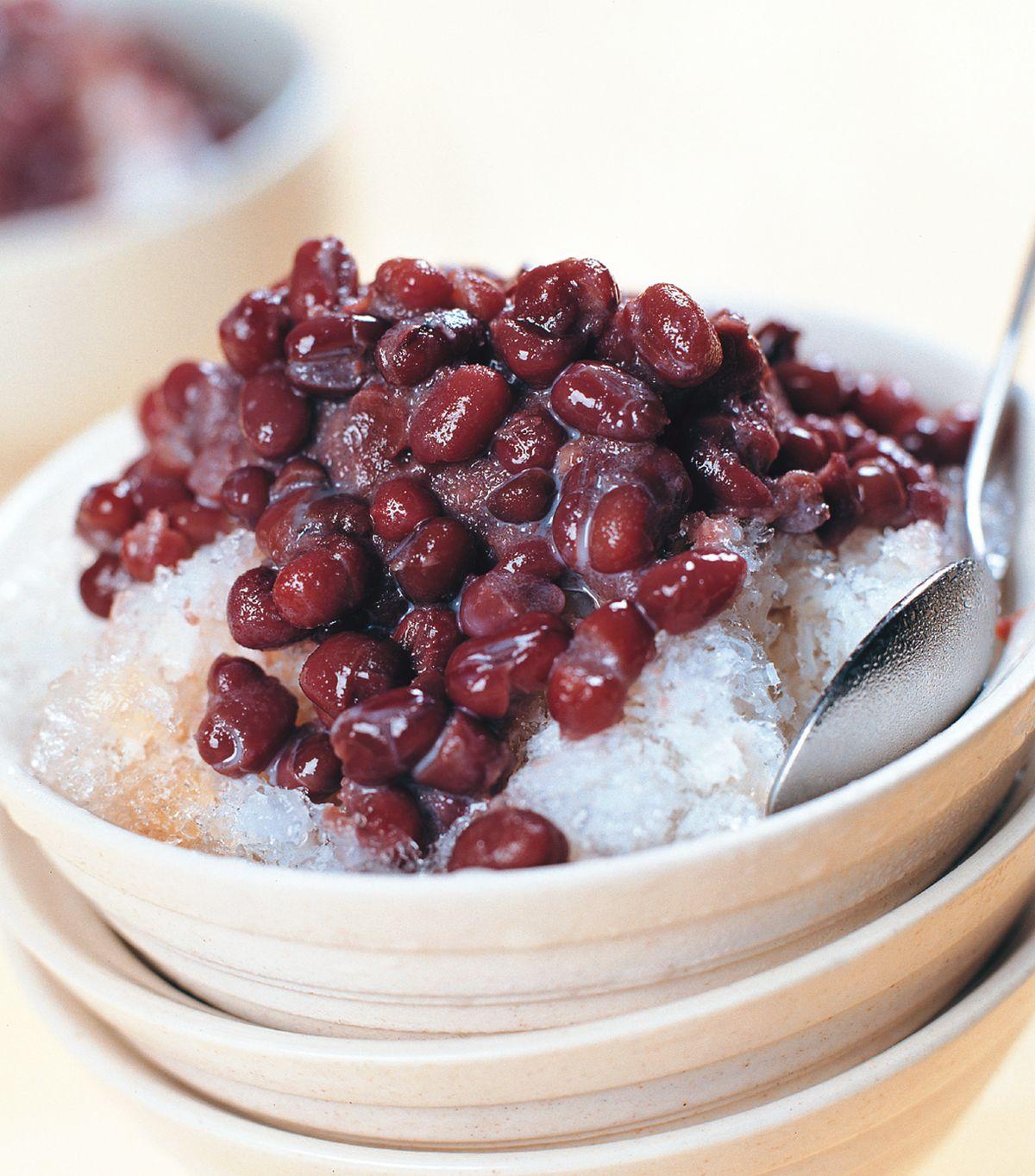 食譜:紅豆牛奶冰