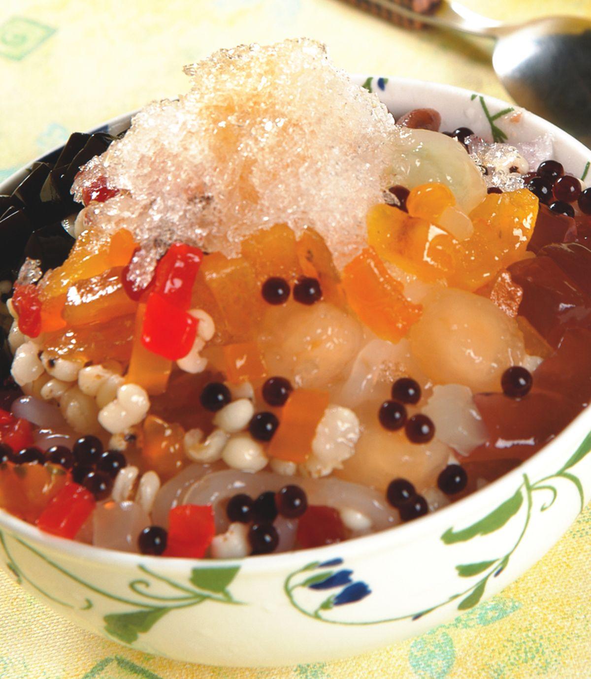 食譜:八寶冰