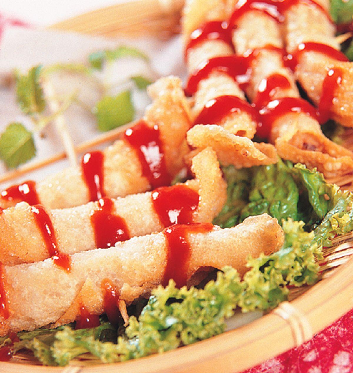 食譜:淡水蝦捲