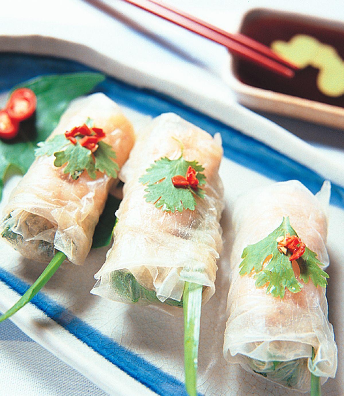 食譜:越南鮮蝦捲
