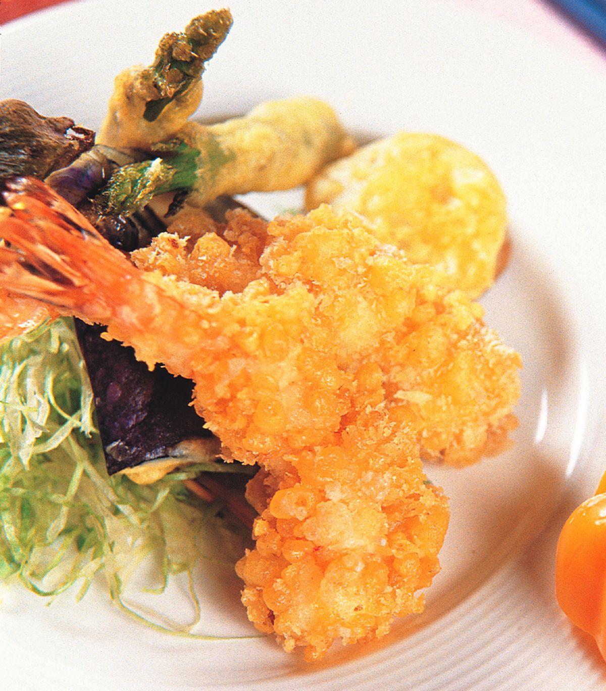 食譜:天婦羅蝦捲
