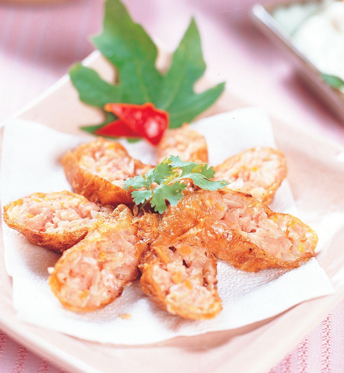 食譜:傳統雞捲