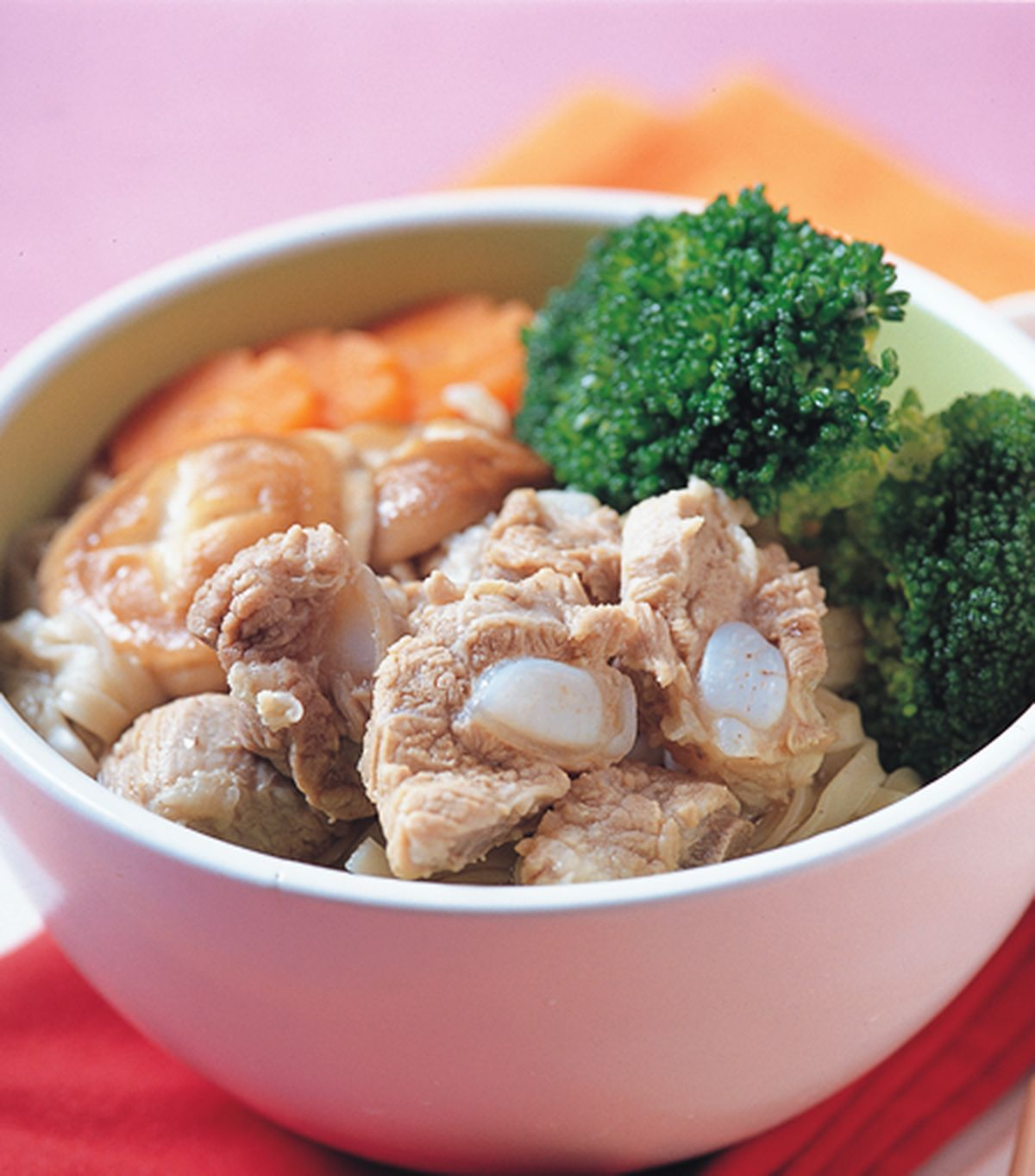 食譜:清蒸排骨麵
