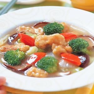 白菜鰻魚羹
