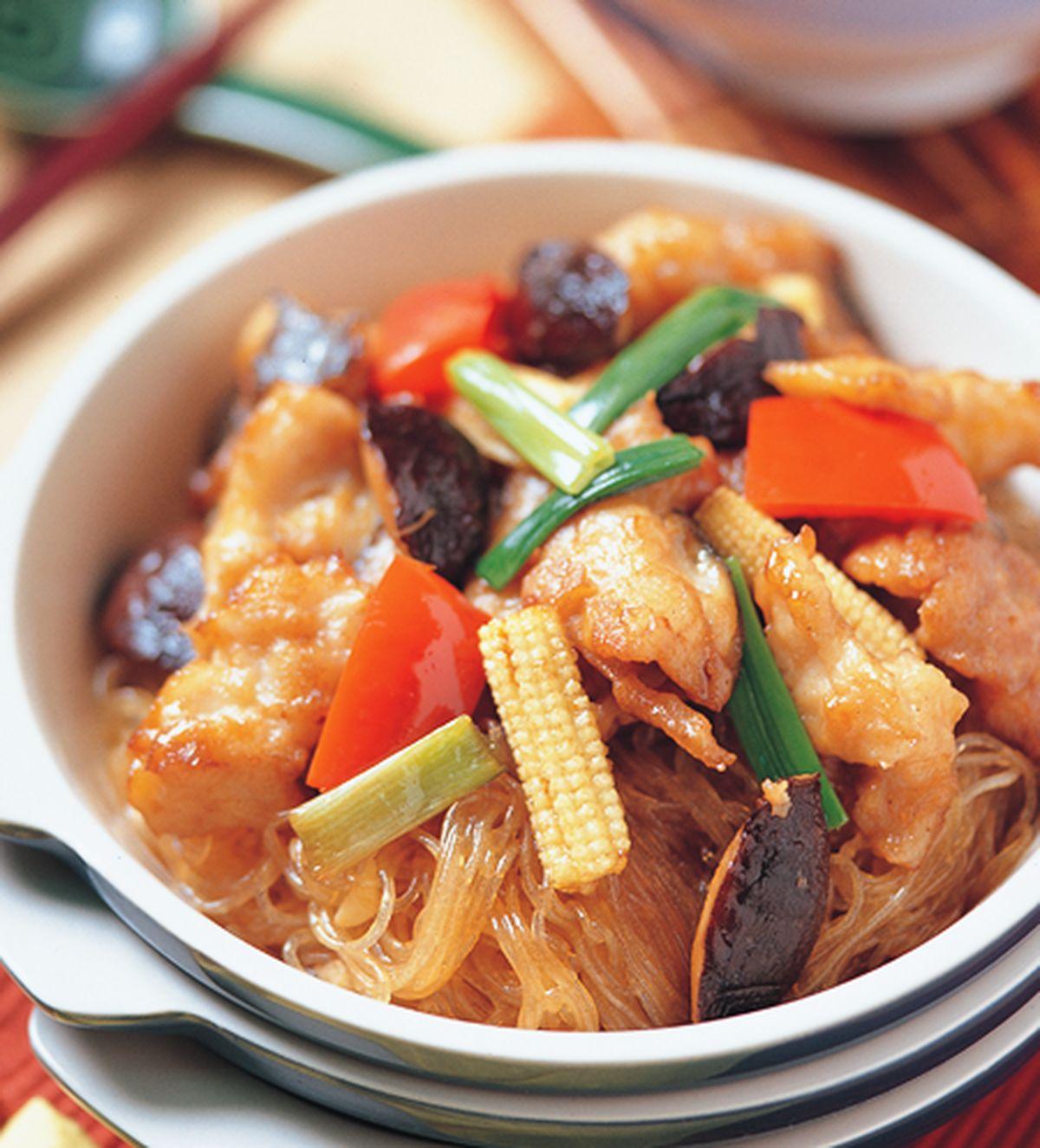 食譜:鰻魚粉絲煲