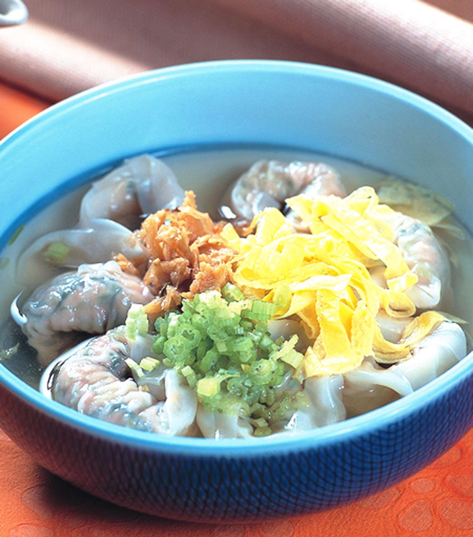 食譜:韭菜鮮肉餛飩餡