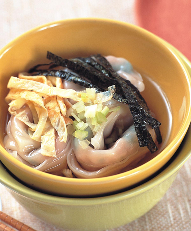 食譜:干貝鮮肉餛飩餡