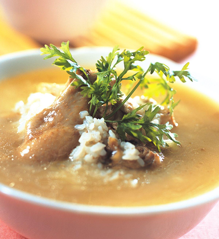食譜:冬蟲夏草雞粥