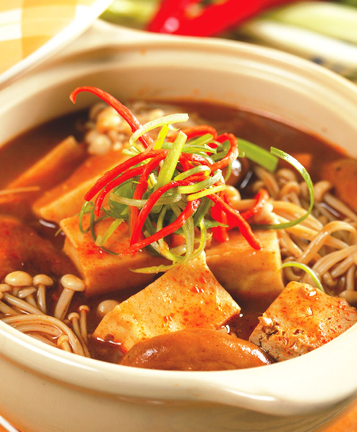 食譜:什錦麻辣豆腐
