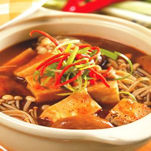 什錦麻辣豆腐