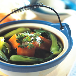蔬菜四物湯