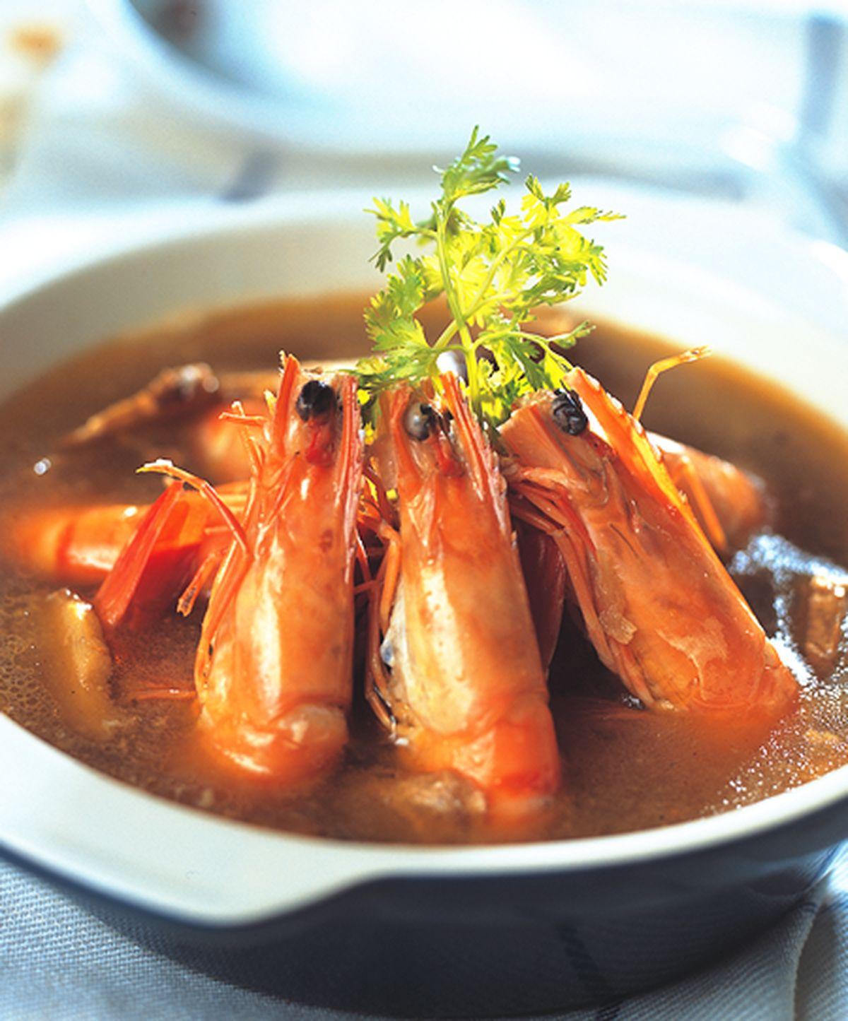 食譜:麻油燒酒蝦