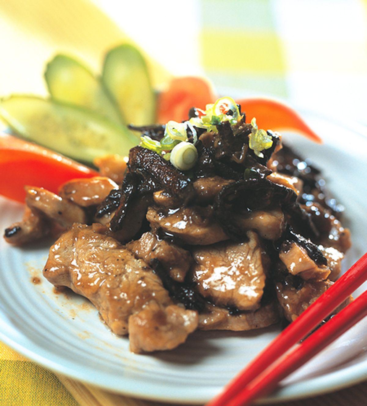 食譜:陳皮炒肉片