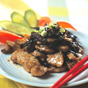陳皮炒肉片